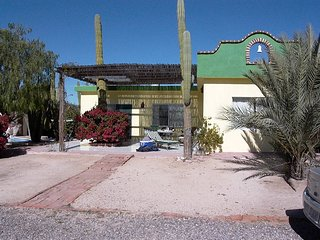 CASA COROMUEL, 130 sq. meter / 1,500 sq. feet TWO BED ROOM BUNGALOW