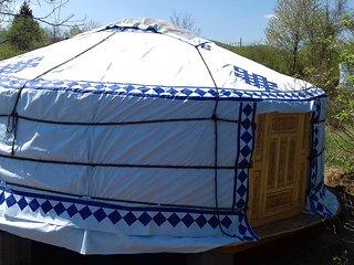 Sleepyhead Mongolian yurt.