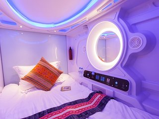 Single Capsule Garden View - Room 203