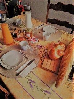 Votre petit-déjeuner (compris dans le prix)