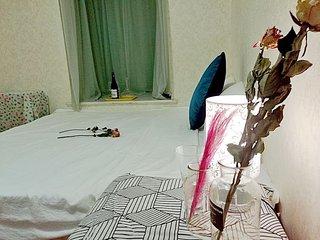 A good Time to ShareTatami  Room【莳花集/Flower Room】植梦榻榻米大床房万象航洋地铁口