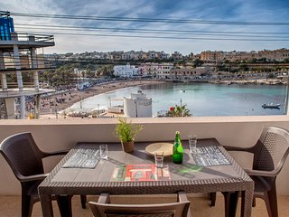 PRholidays fabulous seaview 3 bedroom flat at St George's bay