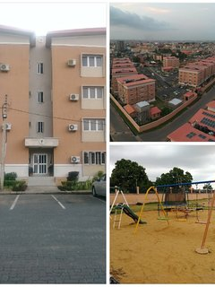 External: Block and Arial view,  Playground