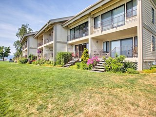 Waterfront Condo 20 Steps from Lake Pend Oreille!