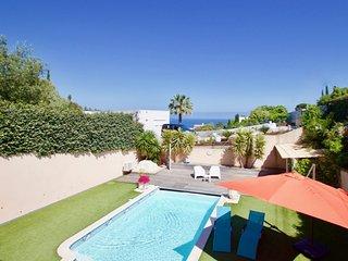 Villa Les Issambres, piscine privée chauffée, au calme proche mer