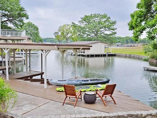 NEW LISTING! Lakefront home w/ guest house, kayak, lake views & dock - dogs OK!
