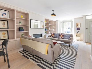 Chic 4 bed, 3.5bath house w/gdn in Shepherd's Bush