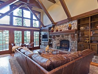 Luxurious 5000 sf Northstar Home - Incredible Game Room & Four King Bed Suites