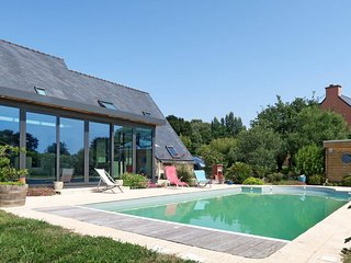 3 bedroom Villa in Quemeneven, Brittany, France : ref 5657636