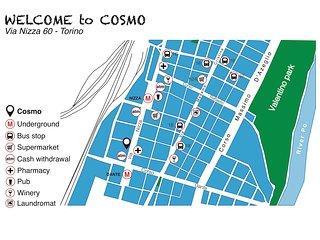 COSMO - Piccolo monolocale presso Piazza Nizza