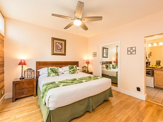 BEST LOCATION & PRICE! King Suite w/ Jacuzzi steps off Duval St.-Mango Hideaway