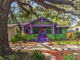 NEW! Eclectic Jacksonville Home - 10 Mins to DT!