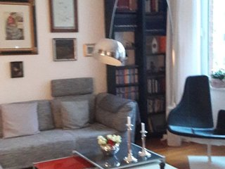 Apartment 681 m from the center of Hanover with Internet, Parking, Balcony, Wash
