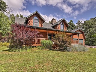 Stellar Wilmington House on 20 Wooded Acres!