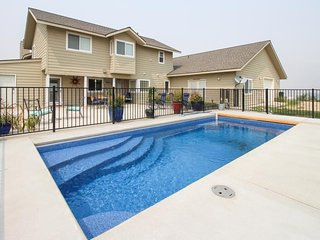 NEW LISTING! Peaceful & spacious home w/ private pool location near lake.