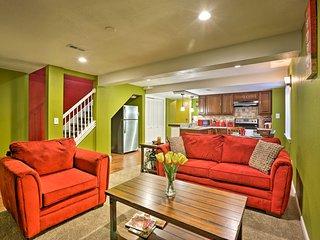 NEW! Bright Denver Apartment-10 Miles to DIA & UCH