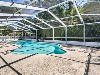 NEW! Quiet Homosassa Home w/ Private Pool & Lanai!