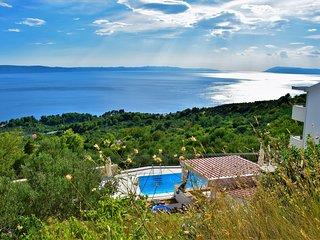 Villa Siesta mit Pool und atemberaubenden Meerblick