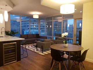 Luxury 1100 sqft two bedroom Calgary condo