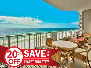 20% OFF Aug! GULF VIEW Deluxe Condo *Resort Pool/Hot tub Gym + FREE VIP Perks