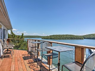 NEW! Lake of the Ozarks Condo w/Deck, Pool & Views