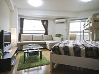 P3, Shinjyuku cozy room! No add up to 4ppl!