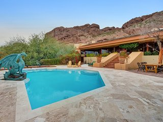 100% Solar- Frank Lloyd Wright beauty on Camelback.