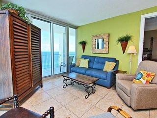 Sleeper Sofa and Balcony Access