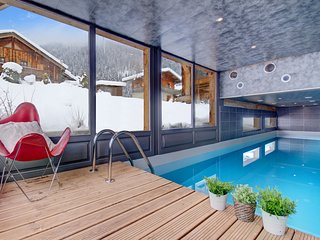 Chalet with indoor swimming pool close to the Morzine ski resort