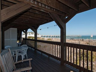Affordable, oceanfront unit near the pier with million dollar views