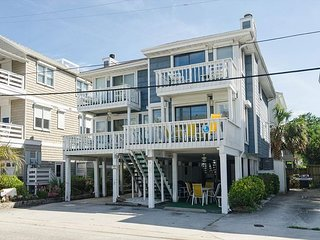 Appealing townhouse with recent upgrades and only a few steps to the pier