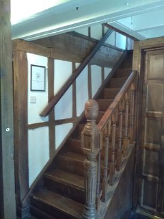 Staircase from the main hallway
