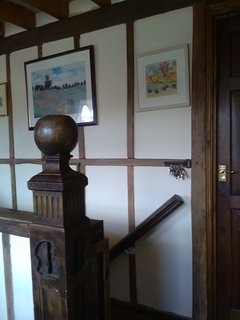 Staircase from the dining area