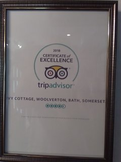 Trip Advisors Certificate of Excellence awarded for 2018 for the second successive year