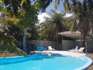 Villa Roja beautiful water front villa on Boca Brava Island