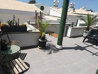 Soleado BUNGALOW en MASPALOMAS con gran terraza