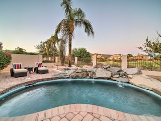 NEW! Phoenix Home w/ Private Pool & Putting Green!