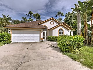 NEW! Naples Home w/ Large Lanai & Private Backyard