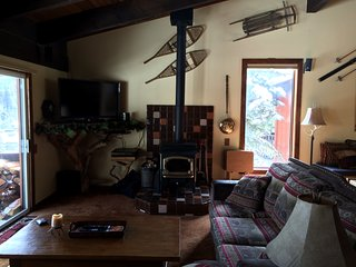 Mammoth Mountain, cozy, cabin, condo with ski in/out access to Canyon Lodge