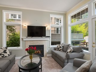 The living area offers plenty of room to entertain.
