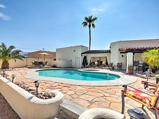 Lake Havasu City Cottage w/Pool, Spa & Lake Views!
