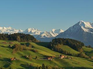 View from Im Bergli