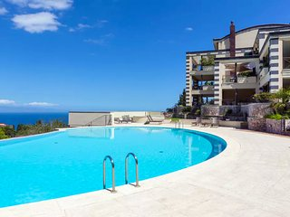 SAN GIORGIO PANORAMIC FLAT SEA VIEW  Pool Terrace Parking Taormina