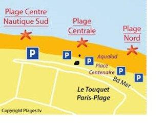 Appartement de standing pour 3 personnes à 400 m de la plage et du centre