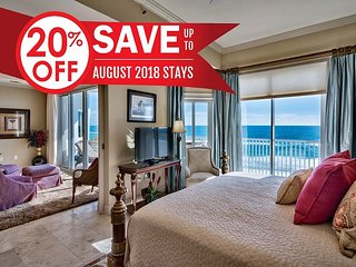 20%OFF Aug! GULF VIEW Luxury Condo*Resort: Pool/Spa+FREE Perks &Beach Service
