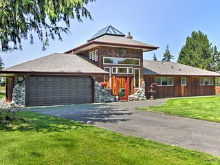 NEW! Custom-Built Port Angeles Home w/ Great View!
