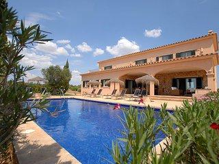 Casa vacacional Es Vinyolet en Ses Salines con piscina privada