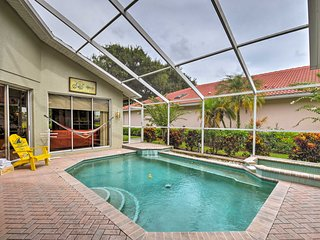 NEW! Sarasota Home w/Private Pool on Golf Course!