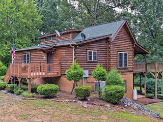 NEW! Rutherfordton Cabin on 3 Acres w/ Fire Pit!