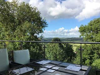 Luxury North Devon House. Fantastic views across the Taw Valley
